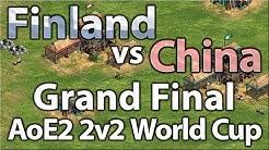 AoE2 2v2 World Cup | China vs Finland | Grand Finals