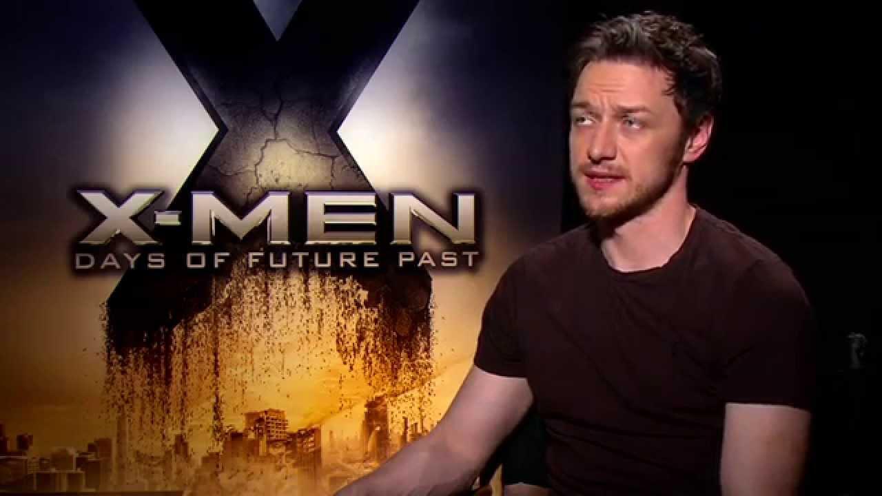 X-Men: Days of Future Past: James McAvoy (Charles Xavier ...