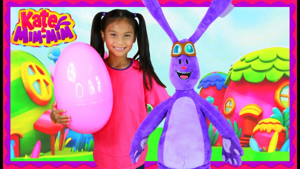 Kate Mim Dress Up In Real Life Irl Giant Egg Surprise Toys Disney Junior Kids Videos You