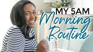 My Productive Morning Routine | 5am Morning Routine Working Mom Edition
