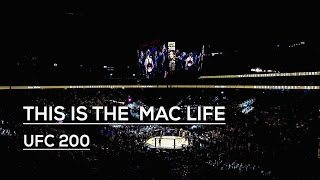 Conor McGregor: THIS IS  THE MAC LIFE UFC 200 #TheMacLife