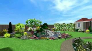 Магия сада: Ландшафтное проектирование - www.magsad.com.ua(3D визуализация ландшафтного проекта. Компания Магия сада (Ландшафтный дизайн Киев,