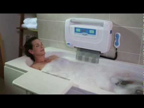 Easy2Bathe Bath Lift - Demonstration - YouTube