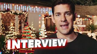 "Aloha: John Krasinski ""John 'Woody' Woodside"" Behind the Scenes Movie Interview"