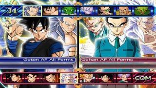 Goten AF All Forms VS Gohan AF All Forms | Dragon Ball Z Budokai Tenkaichi 3