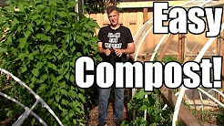 The Easiest Way to Compost Garden Waste (How to)