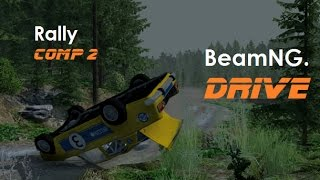 Realistic Rally Crashes 2 - BeamNG. Drive