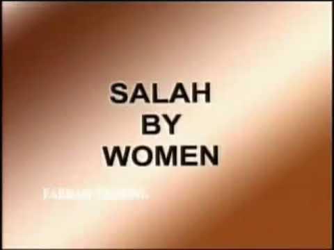 How to perform namaz (Woman)