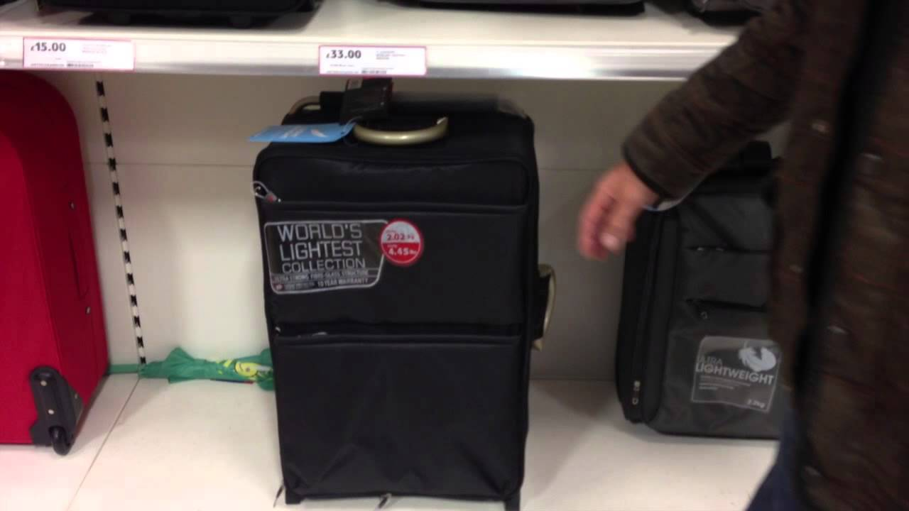 The newest World's lightest suitcase collection - YouTube