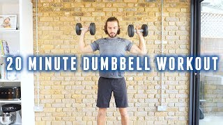 Full Body Strength Workout With Dumbbells | The Body Coach