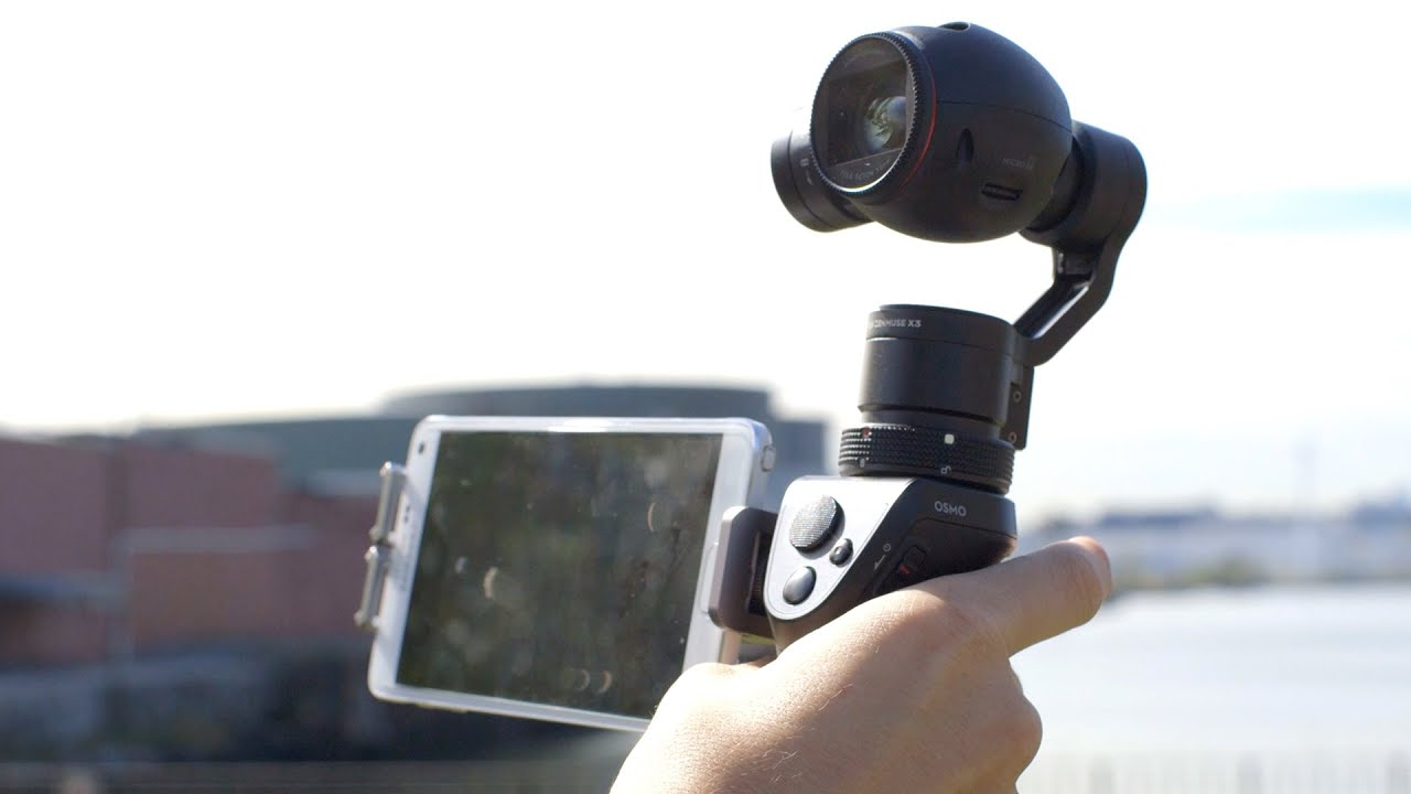 Hands On With The Dji Osmo The Ultimate Selfie Stick