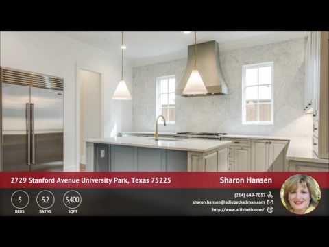 2729 Stanford Avenue University Park, Texas 75225 | Property Video | QuickTours.net