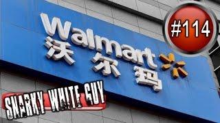 (almost) Secret camera inside Walmart China