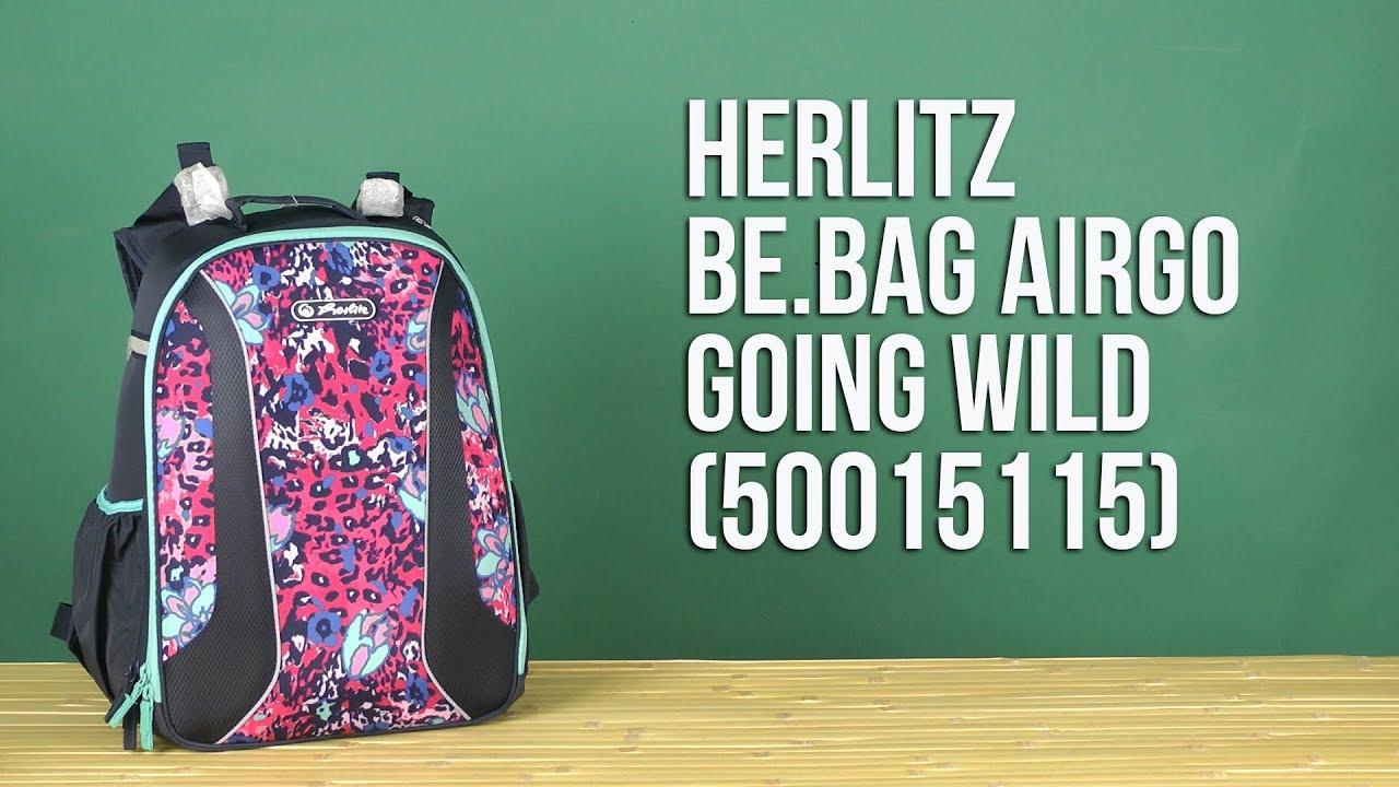 3311583662c1 ROZETKA | Рюкзак школьный Herlitz Be.Bag AIRGO Going Wild (50015115). Цена, купить  Рюкзак школьный Herlitz Be.Bag AIRGO Going Wild (50015115) в Киеве, ...