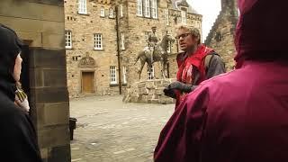 guided tour at Edinburgh Castle