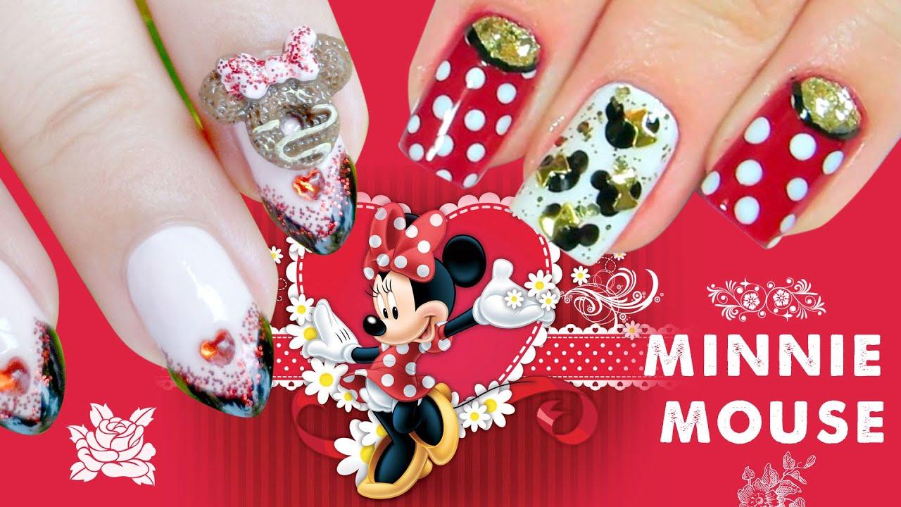 Nail Art - Diseño de uñas Minnie Mouse Disney Colaboración con ...