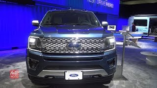 2019 Ford Expedition Platinum - Exterior And Interior Walkaround - 2018 LA Auto Show