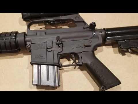 Black Hawk Down `CAR-15 & M16/M203` AR-15 retro builds by DWAI