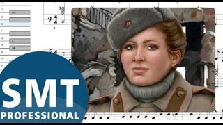 Как играть на аккордеоне Катюша | How to play Katyusha on accordion | SMT Pro