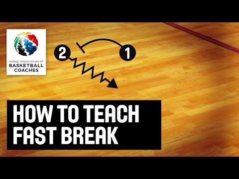 How to Teach Fast Break - Marian Svoboda  - Basketball Fundamentals