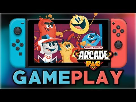 Namco Museum Arcade Pac | First 15 Minutes | Nintendo Switch