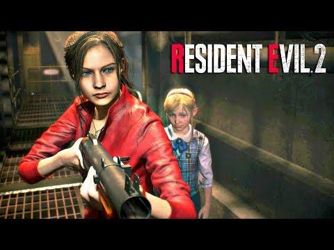 resident-evil-2-remake-claire---pelicula-completa-español---ps4-1080p