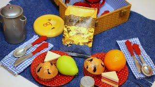Our Generation   Packed For A Picnic Set   Unboxing & Review   Mommyn Meag   Miniature Food