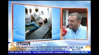 Al menos 15 personas resultaron heridas en ataque de seguidores oficialistas a alcaldía en Vzla