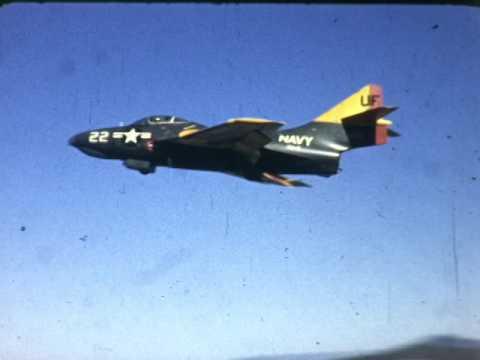 F 2924  Ryan Firebee Grumman F9F Panther, North American FJ-2 Fury