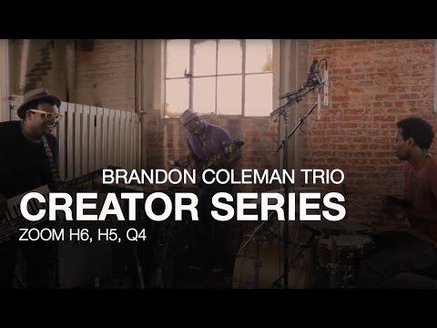 Zoom Creators: Brandon Coleman Trio
