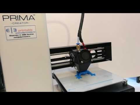 Printing PrimaSelect Flexible filament on PrimaCreator P120