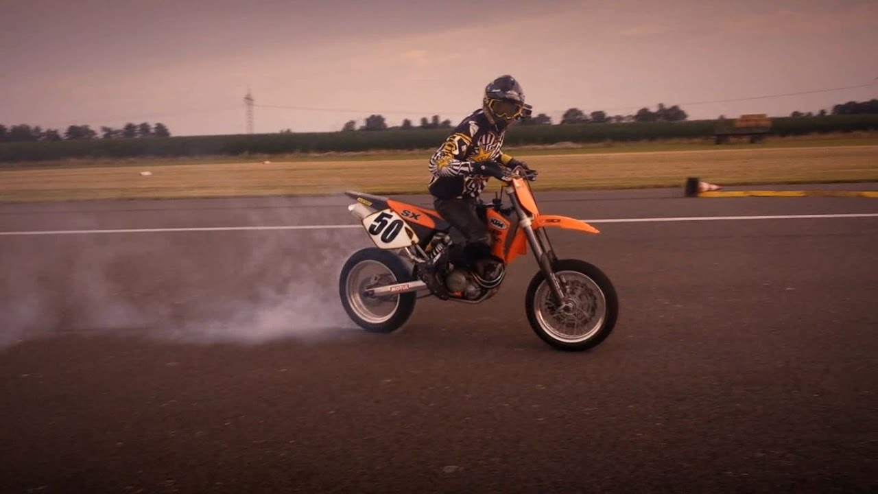 medium resolution of motobikedays damme 2014 supermoto ktm 520 sx