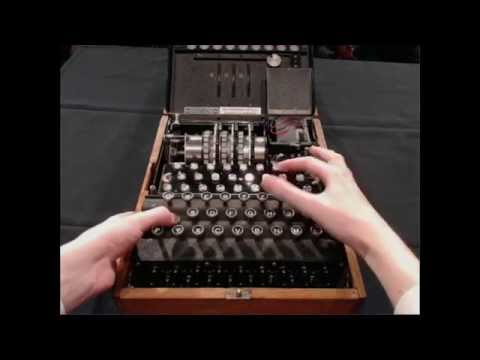 The Inner Workings of an Enigma Machine