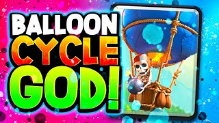 BEST BALLOON DECK played by BALLOON CYCLE GOD! (Even his losses are impressive!)