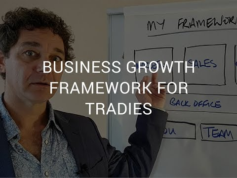 The Framework for Growing Your Trade Business