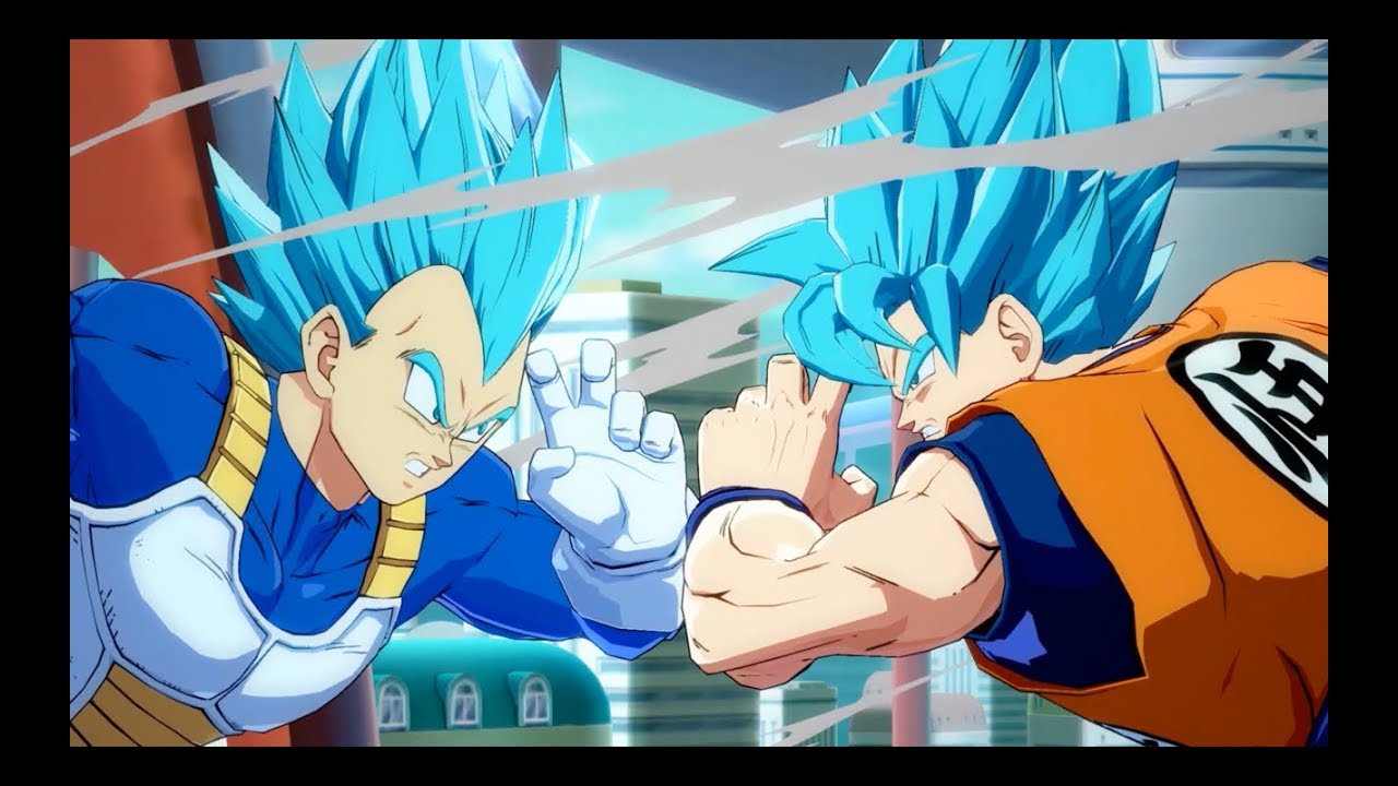 Dragon Ball Fighterz Ssgss Goku And Vegeta Gameplay Trailer X1 Ps4 Pc
