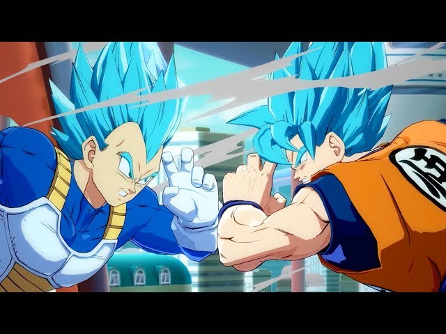 DRAGON BALL FighterZ - SSGSS Goku and Vegeta Gameplay Trailer | X1, PS4, PC