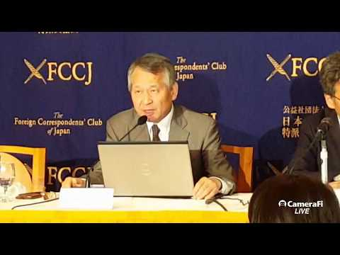 다케사다 히데시 교수, 日외국특파원협회 회견: 트럼프,  김정은  아직 만날 수 있다