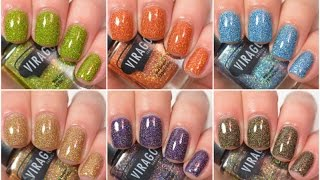 Virago Varnish - Enchanting Sirens Collection   Swatch and Review