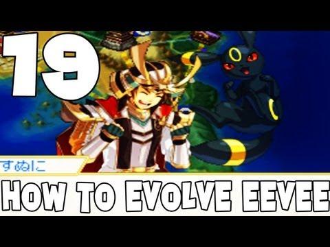 Pokémon Conquest Walkthrough 19 -How To Evolve Eevee