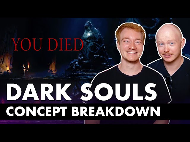 Dark Souls Inspired Concept Art Photoshop Breakdown