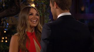 Hannah Brown Steps Out of a Limo on Night One - The Bachelor