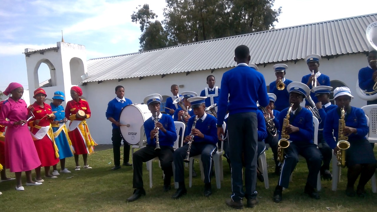 The Holy Pentecostal brass band @St Peters Apostolic Church of Prophecy  (Maseru)