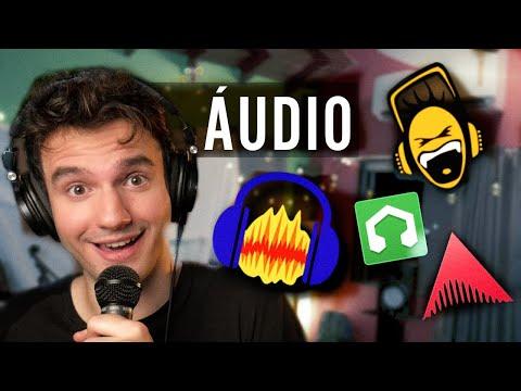 Qual é o Melhor Editor de Áudio Grátis? [2018]