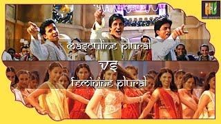 Learn Hindi: Feminine plural vs Masculine plural - 02