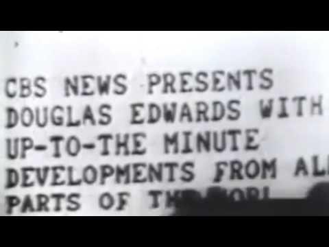 CBS Evening news intros evolution 1948 - 2017