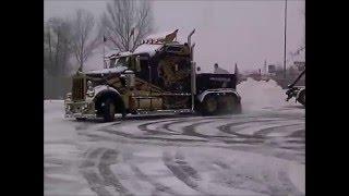 Zima 2015 Kenworth W900 Gniezno (Amerykańska ciężarówka)