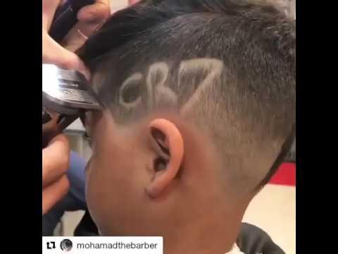 Стрижка «под Роналду» | Haircut Ronaldo