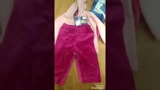 Полный видео обзор фирмы Lupilu (Германия)  Детские велюровые костюмы.