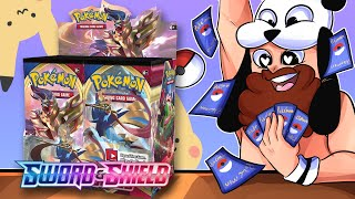 Sword and Shield is Here and It Is INSANE - POKEMON CARD OPENING